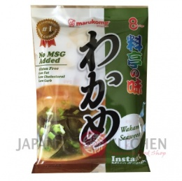 Marukome : Instant miso soup (Wakame) - 8 Servings