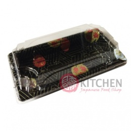 Disposable Sushi Tray with Clear Lid (ST1) x 1pc