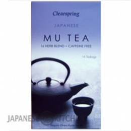 Clearspring : Mu Tea (16 Herb Blend) - 16 Bags