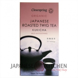Clearspring : Organic Kukicha (Roasted Twig Tea) - 20 bags