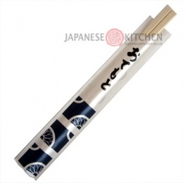 Pacific : Wooden Disposable Chopsticks with sleeves (1 pair)