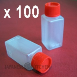 Empty Rectangular Bottle Shape Sachets (6ml) x 100pcs