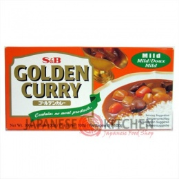 S&B : Golden Curry (Japanese Curry Sauce) MILD - 100g