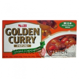 S&B : Golden Curry Roux - Sauce Blocks (Mild) LARGE 240g