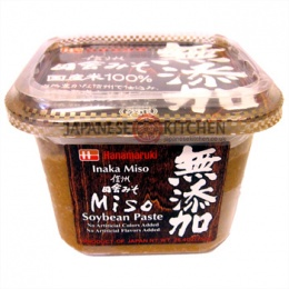 Hanamaruki : Red Miso Paste (Inaka Soybean Paste) No MSG - 750g