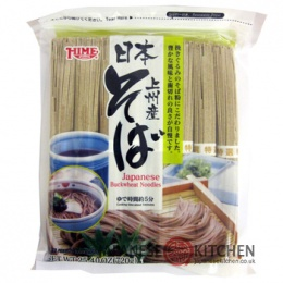 Hime : Japanese Soba Noodles (Buckwheat Noodles) - 8 pack