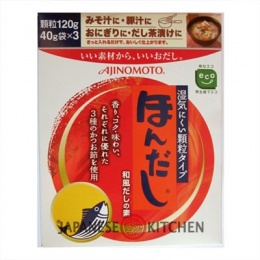 Ajinomoto : Hon Dashi (Katsuo Dashi) - Bonito Fish Soup Stock 120g