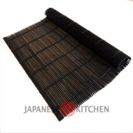 Japanese Bamboo Placemat (Black)