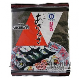 Nagai : Roasted Seaweed Sheets (Sushi Nori) - Regular