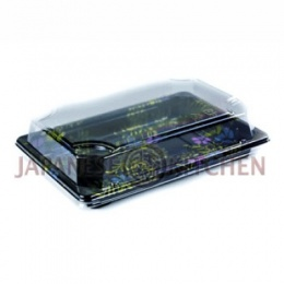 Disposable Sushi Trays with Clear Lids (LARGE-ST4) x 50pcs